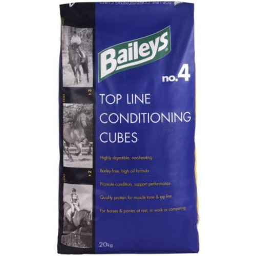 Baileys No 4 Top Line Horse Conditioning Cubes Balancer 20kg