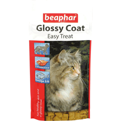 Beaphar Glossy Coat Easy Treat Cat Treats
