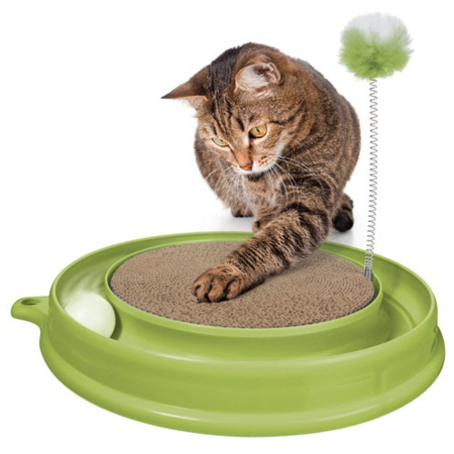 Catit Play N Scratch Cat Toy Green