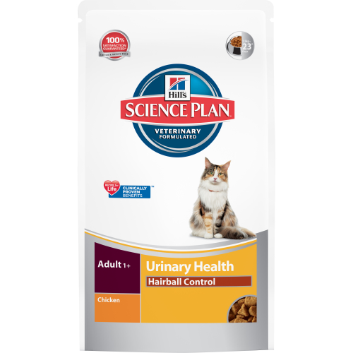 Hills Science Plan Feline Urinary & Hairball Control Chicken