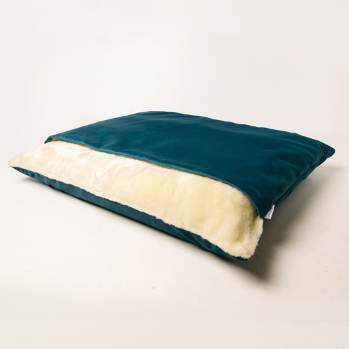 Charley Chau Velour Snuggle Dog Bed