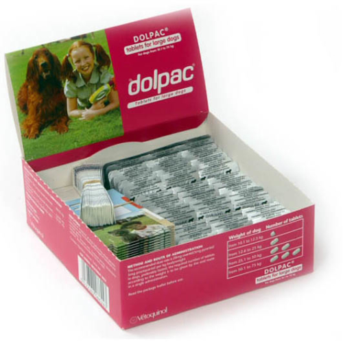 Dolpac Worming Tablets for Dogs 1 Tablet - Large Dog