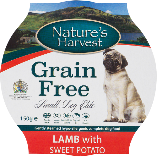 Natures Harvest Elite Lamb with Sweet Potato Small Dog Food