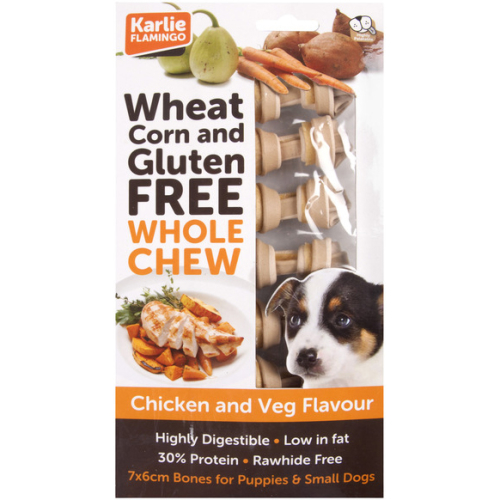 Karlie Whole Chicken & Vegetable Dog Chew