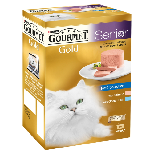 Gourmet Gold Pate Selection Senior Cat Food