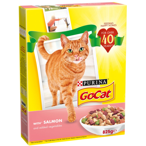 Go-Cat Salmon & Vegetable Adult Cat Food