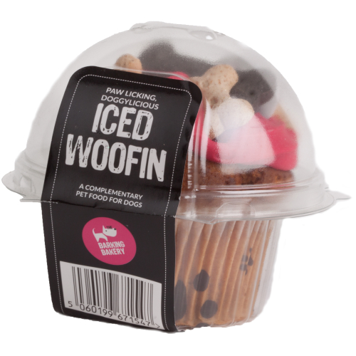 The Barking Bakery Iced Woofin Dog Treat