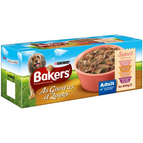 Bakers As Good As It Looks Select Menu 280g x 16