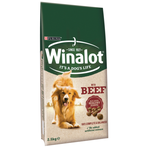 Winalot Complete with Beef Dry Dog Food