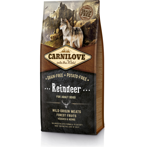Carnilove Reindeer Adult Dog Food 12kg