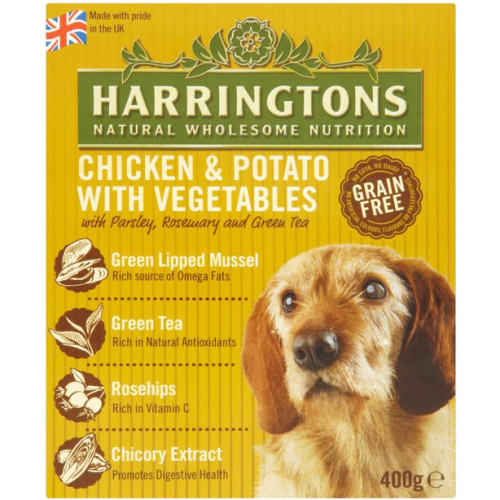 Harringtons Chicken & Potato Wet Dog Food