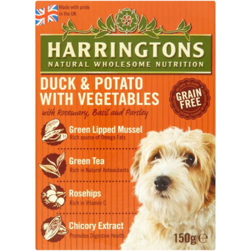 Harringtons Duck & Potato Wet Dog Food