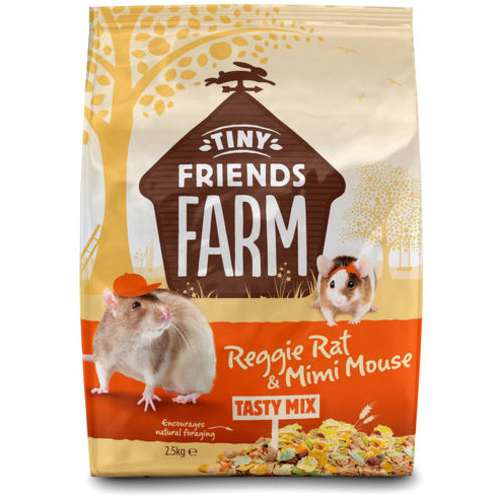 Supreme Reggie Rat & Mimi Mouse Tasty Mix Rat & Mouse Food