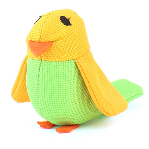 Beco Bertie the Budgie Catnip Cat Toy