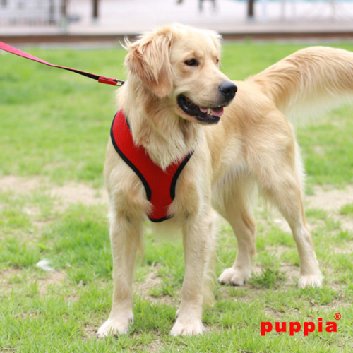 Puppia Soft Red Dog Harness