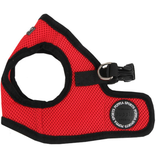 Puppia Soft Red Jacket Dog Harness