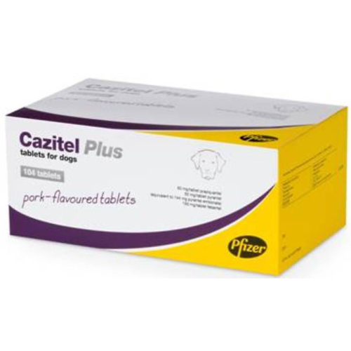 Cazitel Plus Dog Worming Tablets Cazitel Plus - 1 Tab NFA-D
