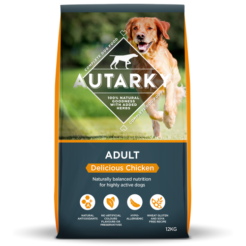Autarky Chicken Dinner Adult Dog Food 12kg x 2