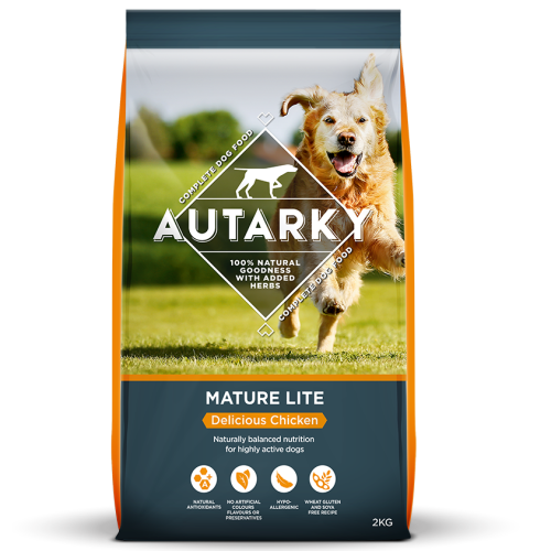 Autarky Chicken Dinner Mature Lite Dog Food 2kg