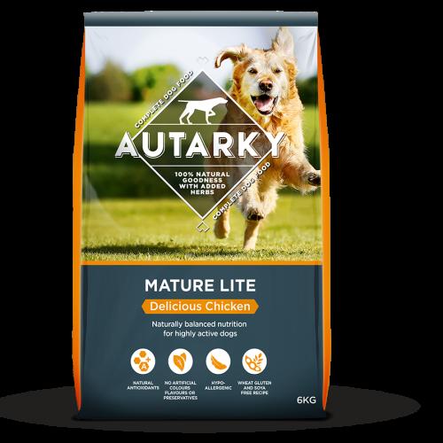 Autarky Chicken Dinner Mature Lite Dog Food 6kg