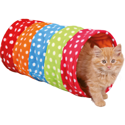 Trixie Cat Playing Tunnel