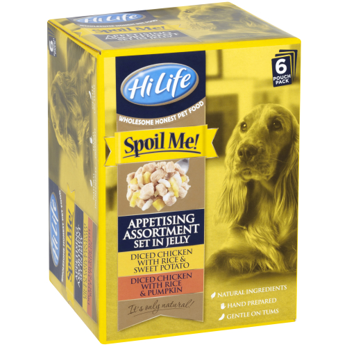 HiLife Spoil Me Appetising Assortment Set in Jelly for Dogs