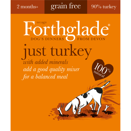 Forthglade Just Turkey Grain Fee Dog Food