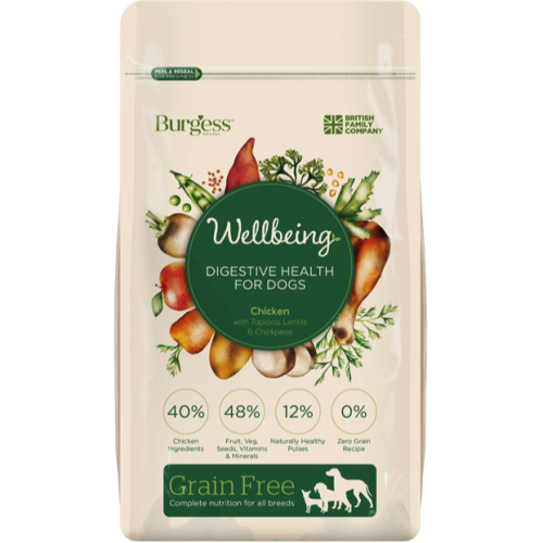 Burgess Wellbeing Digestive Dog Food