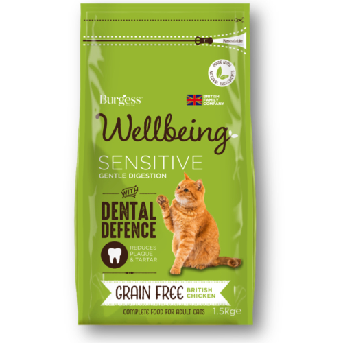 Burgess Wellbeing Sensitive Cat Food