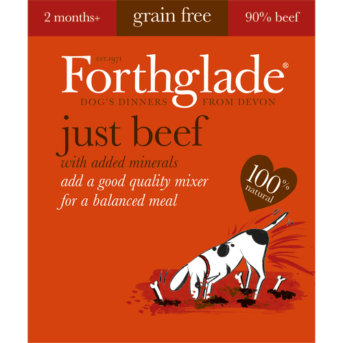 Forthglade Just Beef Dog Food