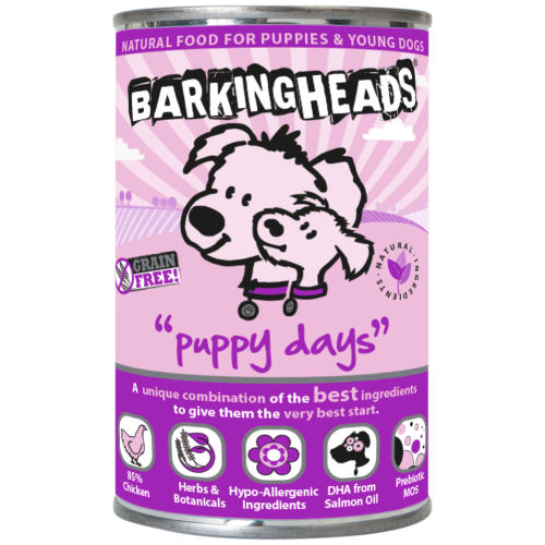 Barking Heads Foods Puppy Days Wet Puppy Food