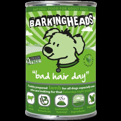 Barking Heads Bad Hair Day Adult Dog Food 400g x 24