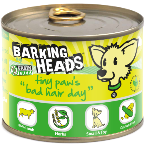 Barking Head Tiny Paws Bad Hair Day Wet Adult Dog Food