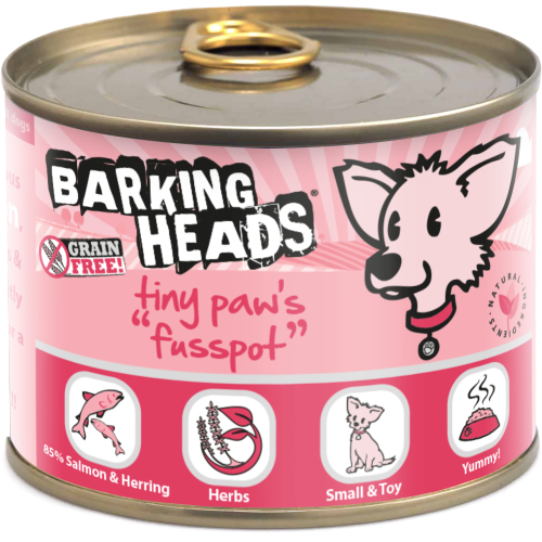 Barking Heads Tiny Paws Fusspot Wet Adult Dog Food