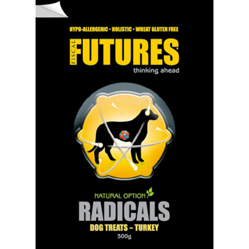 Futures Turkey Radicals Dog Treats