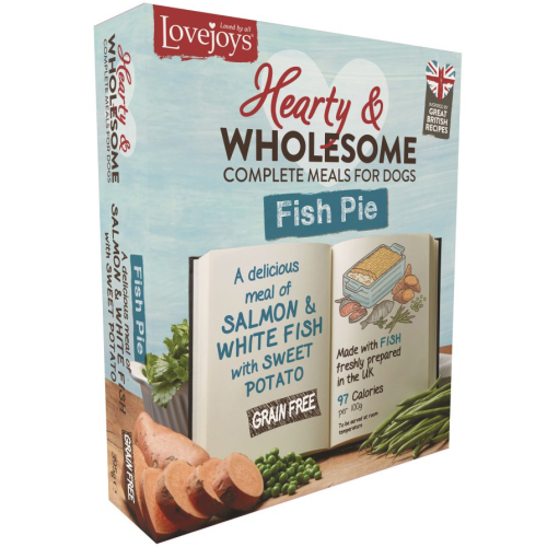 Lovejoys Hearty & Wholesome Fish Pie Dog Food