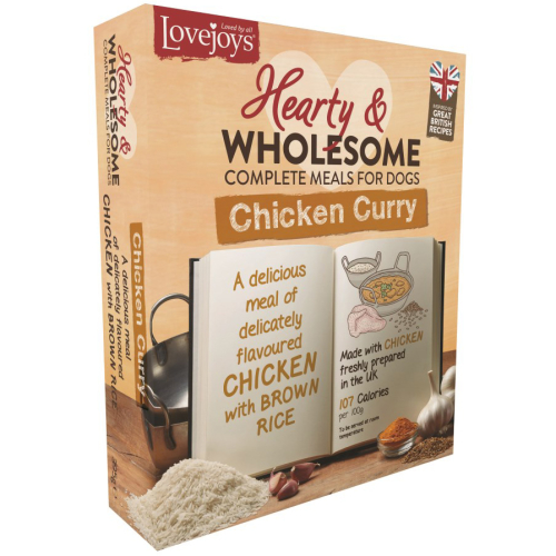 Lovejoys Hearty & Wholesome Chicken Curry Dog Food