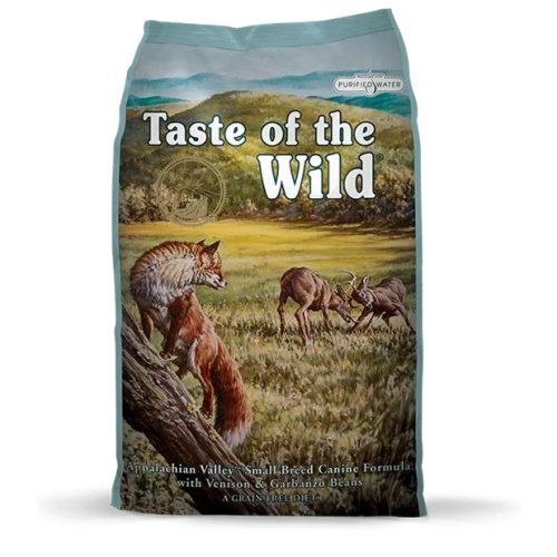 Taste Of The Wild A'chian Valley Small Breed Venison & Beans Dog Food