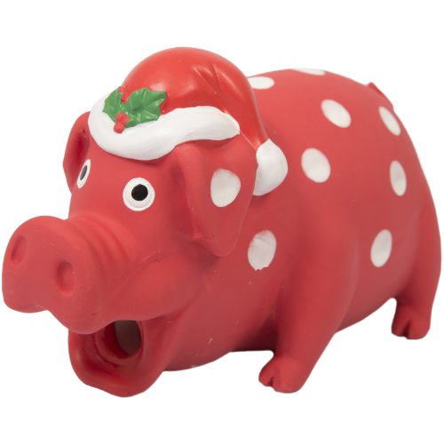 Good Boy Festive Piglet Christmas Dog Toy