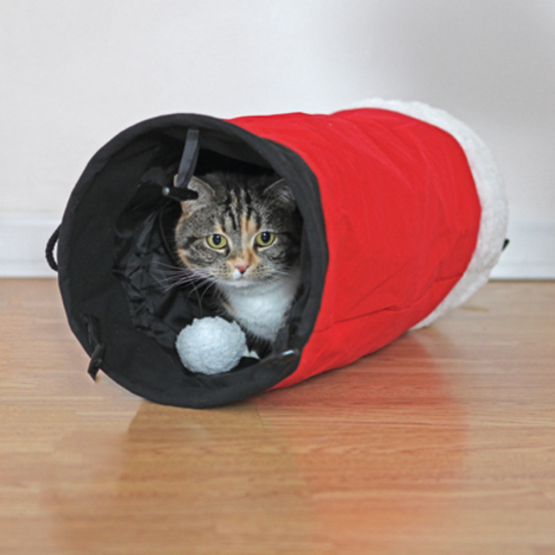 Rosewood Christmas Red Cat Tunnel