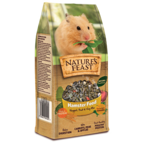 Natures Feast Nugget, Fruit & Veg Hamster Mix