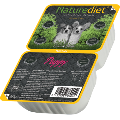 Naturediet Grain Free Chicken & Lamb Puppy Food