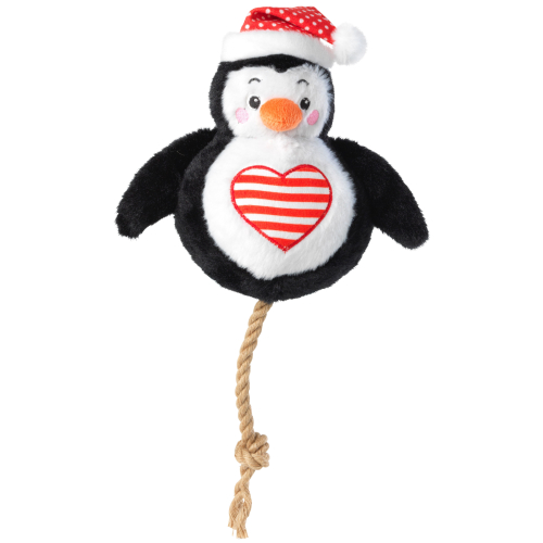 House of Paws Snowball Christmas Dog Toy