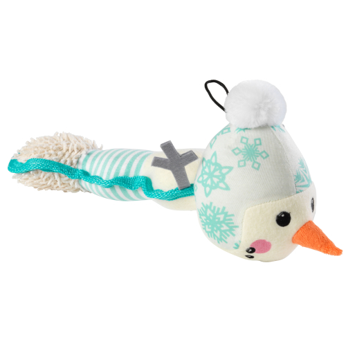 House of Paws Christmas Snowman Long Dog Toy