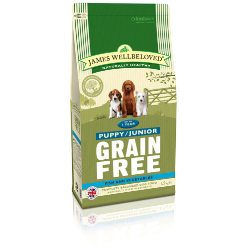 James Wellbeloved Grain Free Fish Puppy Dog Food