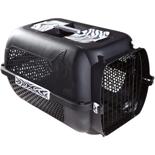 Catit Profile Voyageur Cat Carrier Black Tiger Pattern