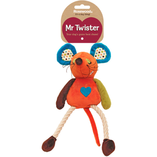 Rosewood Millie Mouse Dog Toy