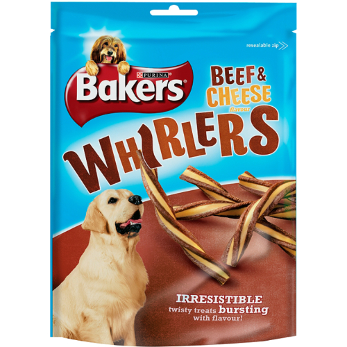 Bakers Whirlers Original Dog Treats