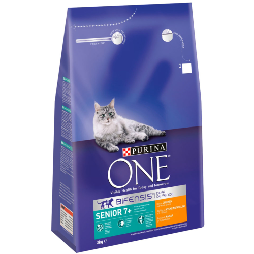 Purina ONE Bifensis Chicken & Whole Grain Senior Cat Food