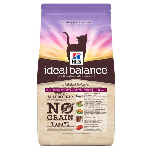 Hills Ideal Balance No Grain Tuna & Potato Cat Food